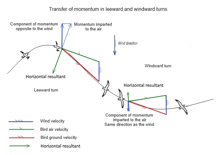 Transfer of momentum